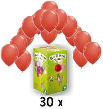 helium und ballon partyset rot im shop. Black Bedroom Furniture Sets. Home Design Ideas