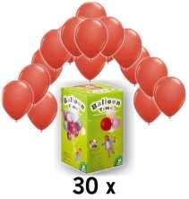 helium und ballon partyset rot im shop. Black Bedroom Furniture Sets. Home Design Ideas