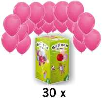 ballongas helium ballons pink im shop. Black Bedroom Furniture Sets. Home Design Ideas