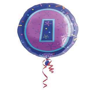 folienballon zahl 0 mit helium im shop. Black Bedroom Furniture Sets. Home Design Ideas
