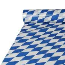 papiertischtuchdecke bayrisch blau im shop