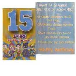 Geburtstagskarte 15