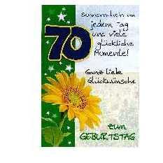 70. Geburtstag Deko & Geschenke: Dekoartikel und ...