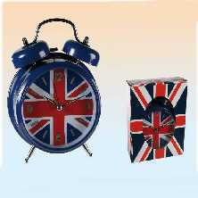 Wecker Union Jack
