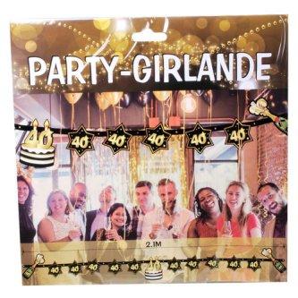 Party Deko 24 : 40 geburtstag geschenke deko dekoartikel und ~ Watch28wear.com Haus und Dekorationen