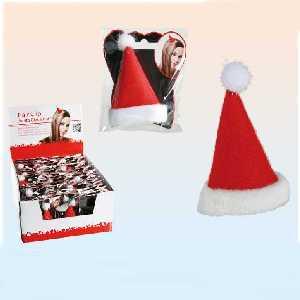 haarclip weihnachtsm tze im shop. Black Bedroom Furniture Sets. Home Design Ideas