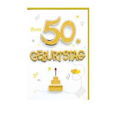 50. Geburtstag Deko & Geschenke: Dekoartikel und ...