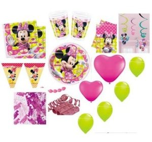 Minnie Mouse Partyset - Sparset
