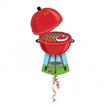Folienballon Barbeque Grill