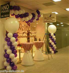 Party deko ballon shop hannover partyartikel festartikel for Raumdekoration ideen