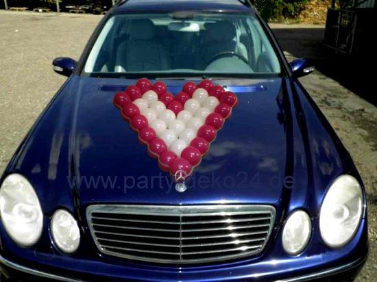 Hochzeitsauto Dekorieren Autoschmuck Fur Das Brautauto