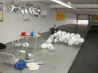 Ballondekorationen event dekoration f r jede feier und party aus hannover - Luftballon deko ...