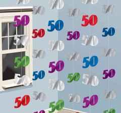 Geburtstag Hangegirlande 50 Im Shop