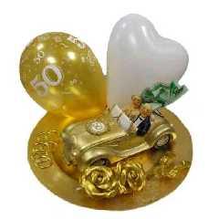 Goldene Hochzeit Deko Sparset 4 Im Shop