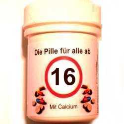 Geschenke 16 Geburtstag Die Pille Fur Alle Ab 16 Im Shop