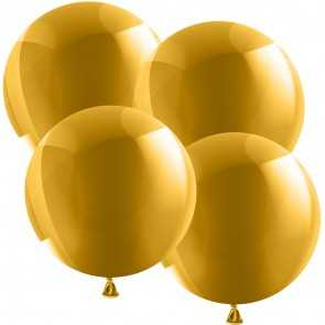 Riesenballon 55cm - Metallic - Gold