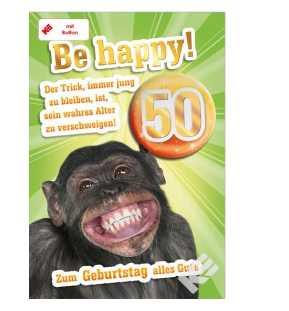 Tierische Karte Zum 50 Geburtstag Im Shop