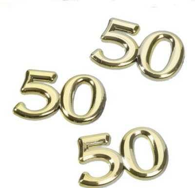 Goldene Hochzeit Zahl 50 Im Shop