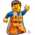 Lego Movie 2 Emmet Folienballon