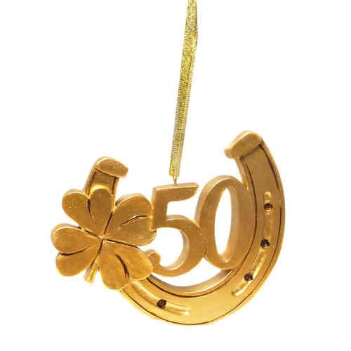 Hufeisen 50 Gold
