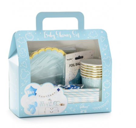 Dekoration Set - Its a Boy Babyparty
