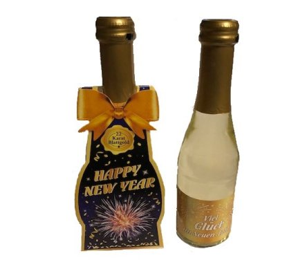 Goldsekt Happy New Year